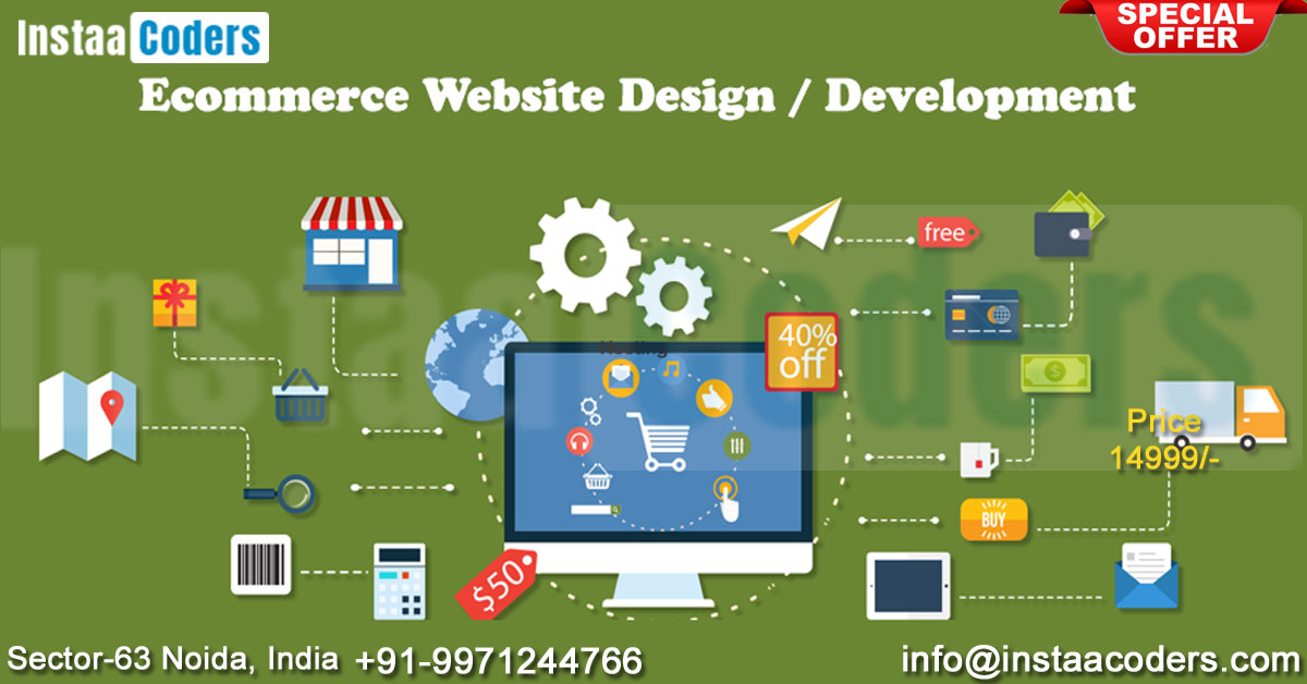 eCommerce Website Development Services