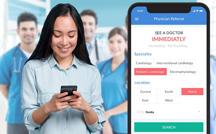 on-demand doctor appointment app