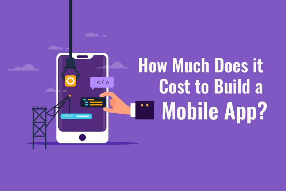 How much cost gets included to design a Mobile App?