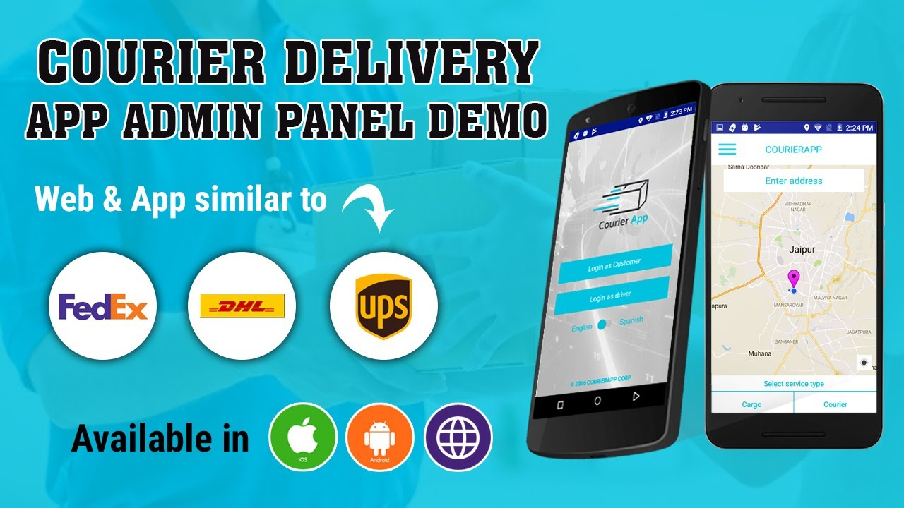 Courier Delivery Application